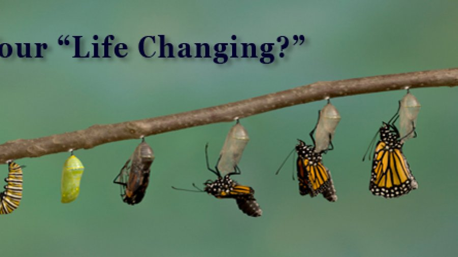 "Is Your ""Life Changing?"""